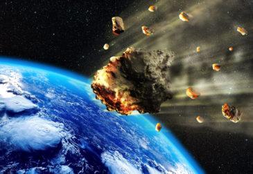 Астероид уже близко